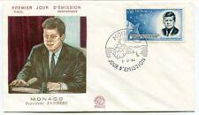 1984 Premier Jour D'Emission Monaco President Kennedy  FDC Historique SPACE
