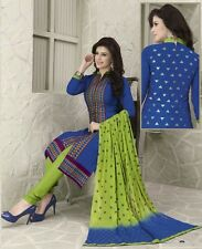 Radiant Cotton Embroidered Salwar Suit Dress Material D.NO NKT1134