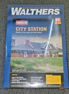 Walthers HO Scale City Station Kit NIB