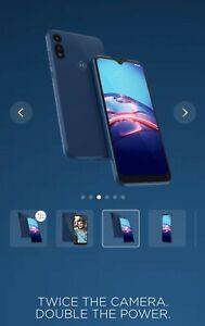 Motorola Moto E (2020) - 32GB - Midnight Blue Verizon Pre-Owned with free bonus
