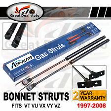 Pair Bonnet Gas Struts for Holden Commodore VT VU VX VY VZ Sedan Wagon UTE HSV