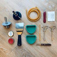 Dental Removable Waxing Instruments Torch, Bunsen Burner,Caliper, Buffalo Knife