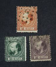 CKStamps: Netherland Stamps Collection Scott#9-11 Used