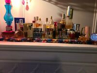 Huge Vintage Fragrance Perfume LOT, Minatures/Minis  & Full sizes