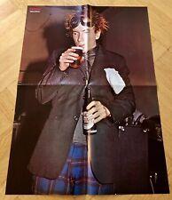 Sex Pistols 1977 Johnny Rotten Swedish Poster Magazine 1970s Vintage Rare