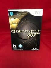 Goldeneye 007 Game With Gold Controller Collector's Nintendo Wii NEW Sealed Mint