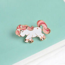 Cute Alloy Horse Shape Enamel Brooch Pin Badge Fashion Jewelry Kids Gift