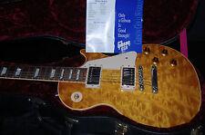 1997 Gibson Les Paul 58 Reissue Custom Shop Monster Quilt Top MINT! UNIQUE! RARE