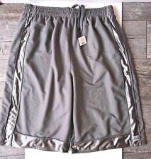 Pro Club Men's Mesh Basketball Shorts w/Trim No Pocket New Lt Grey 4Xl