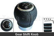 Leather Gear Shift Knob 5 speed Manual for SUZUKI Alto Baleno Swift Jimny /1580