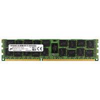 Micron 16GB 2Rx4 PC3L-12800R DDR3 1600 MHz 1.35V ECC REG RDIMM Memory RAM 1x 16G