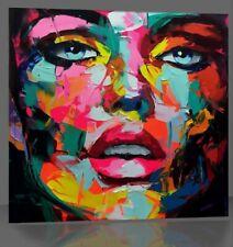 Pop Face Abstrakt art Contemporary Bild 100x100 Top Aktuel art Modern FC9