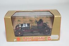+ BRUMM R9 FIAT COPPA FLORIO CORSA 1904 BLACK PURPLE MINT BOXED