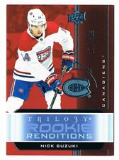 2019-20 TRILOGY ROOKIE RENDITIONS BLUE PARALLEL RR1 to RR-50 /399 Pick From List