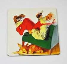 Coca-Cola Cork Coasters Coaster Sous-Bock Santa Claus Santa Klaus in Chair