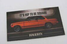 Hagerty Promo BMW 2002 02 Series Bavarian Auto Fridge Magnet
