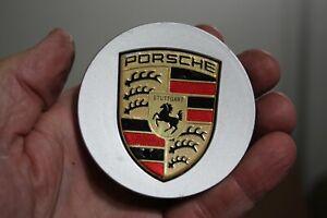 "GENUINE Porsche Cayman Boxster Cayenne 911 Center Cap P/N 7L5.601.149E , 3"""