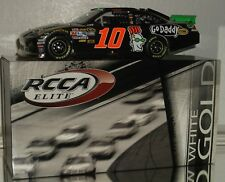 2012 RCCA DANICA PATRICK #10 GODADDY.COM WHITE GOLD AUTO ELITE 1/24 CAR#11/48