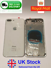 NEW APPLE IPHONE 8+ 8PLUS REPLACEMENT BACK REAR HOUSING & FRAME BATTERY-(WHITE)