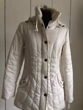 Tiffanis Ronen Model Off White Coat from Israel Size 10 American Size Small