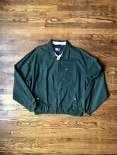 Vintage Tommy Hilfiger Harrington Jacket Forest Green Size XX-Large