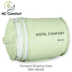 Prestige Collection Bamboo Bolster Pillow Memory Smart Foam Hotel Comfort HC