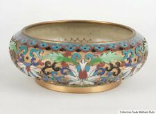China 20. Jh. Schale - A Chinese Champlevé & Cloisonné Bowl - Cinese Chinoise