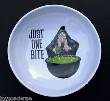 DISNEY Parks HALLOWEEN CANDY BOWL EVIL QUEEN As OLD HAG New
