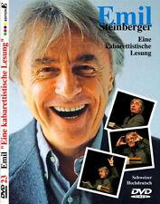 """DVD * EMIL STEINBERGER - EINE KABARETTISTISCHE LESUNG # NEU OVP """""""