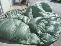 U.S. Military 35′ Olive Drab Nylon Personnel Parachute