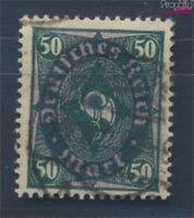 Deutsches Reich 209b geprüft gestempelt 1922 Posthornzeichnung (8248793