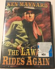 Law Rides Again - DVD - Black & White Closed-captioned Dolby Ntsc - BRAND NEW