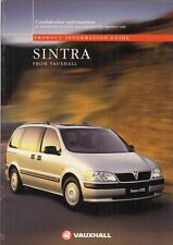 Vauxhall Sintra 1997 UK Market Salesmans & Fleet Customers Sales Brochure