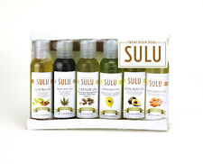 GIFT SET OF 6 SAMPLE SIZE ORGANIC CARRIER OILS COLD PRESSED PREMIUM QUALITY OILS