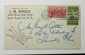 1956 US Air Mail New York, NY