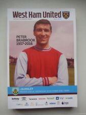 Premiership Teams S-Z West Ham United Football Programmes