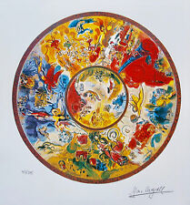 Marc Chagall PARIS OPERA CEILING Facsimile Signed Ltd Edition Art Small Giclee