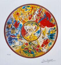 Marc Chagall PARIS OPERA CEILING Facsimile Signed Ltd Edition Art Small Giclee