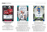 2019 PANINI PRIZM FOOTBALL HOBBY PICK YOUR PLAYER (PYP) 1 BOX BREAK #1