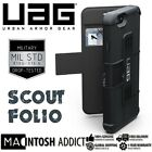 UAG Scout Folio Wallet Case For iPhone 6 Plus/6s Plus BLACK | Military Grade