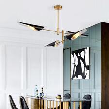 Black Pendant Light Bar Lamp Office LED Ceiling Lights Large Chandelier Lighting