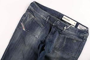 Neu Diesel Jeans Damenjeans HUSHY Slim Knöchellang 7/8 Stretch W 27 28 30 32 L32