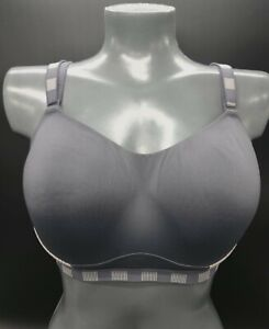 Marks Spencer High Impact padded underwired Cross back sports bra size 40D Gym