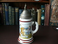 Vintage German  Military Beer Stein