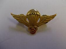 b0318 RVN Vietnam Basic Para Instructor Wing medal gold IR10B