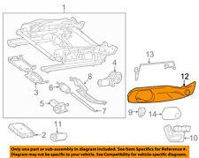 MERCEDES OEM 12-16 SLK350-Seat Cover-Side Left 17291903749051