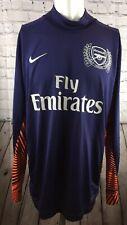 Arsenal Football Shirt Original Nike Kit Goalkeeper 125th Anniversary 1886-2011