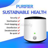 Air Purifier Mini Cleaner Remover Odour Dust Cabinet Fridge Car Smel