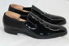 PRADA Patent Leather Slip On Loafer High Shine - Black - Size 12US / 11UK (W95)