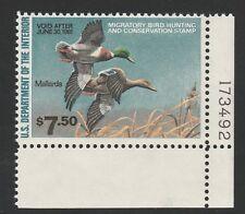 Kappysstamps Ks2819 Usa Bob Federal Ducks Sc# Rw47 Mint Never Hinged Retail $25